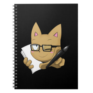 "Artist Cat ""Without Black Block"" Notebook"