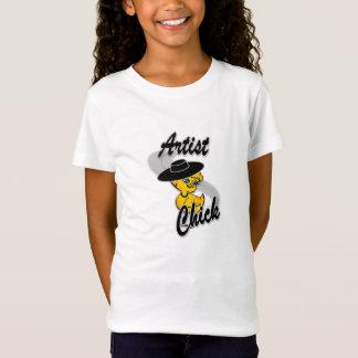 Artist  Chick #4 T-Shirt