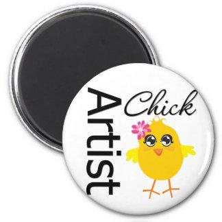 Artist Chick Fridge Magnets