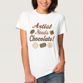 Artist Chocolate Shirt