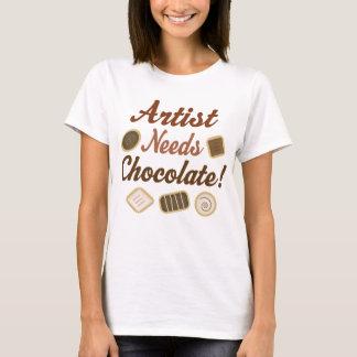 Artist Chocolate T-Shirt