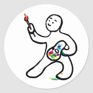 Artist Classic Round Sticker