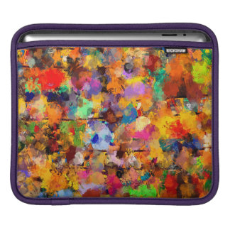 Artist Color Abstract Art Dab Sleeve For iPads