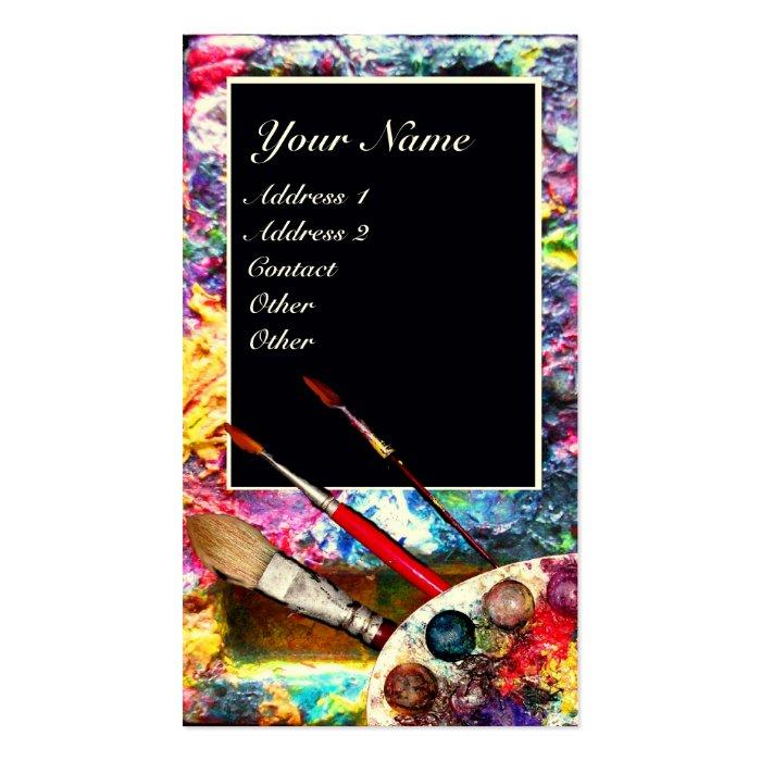 artist color palette monogram painterart supplies