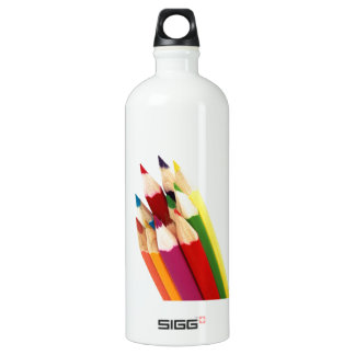 Artist Colored Pencils Color Pencil Art Aluminum Water Bottle