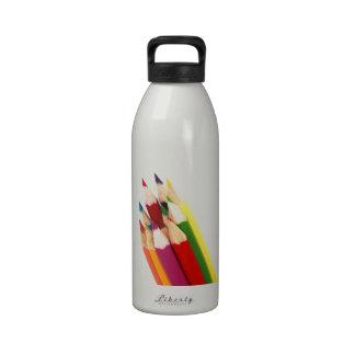 Artist Colored Pencils Color Pencil Art Water Bottles