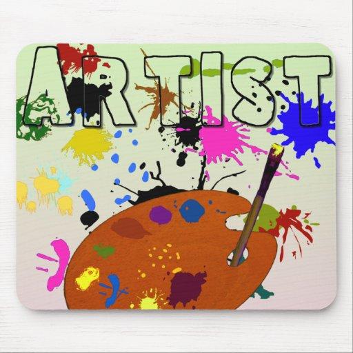 Artist Colorful Mousepad