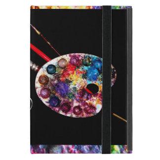 ARTIST COLOUR PALETTE MONOGRAM Black Cover For iPad Mini