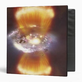 Artist concept of a galaxy binder