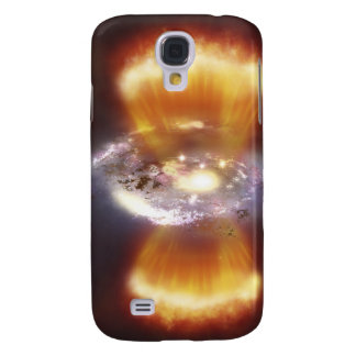 Artist concept of a galaxy samsung s4 case