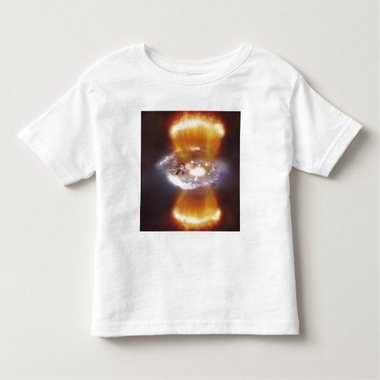 Artist concept of a galaxy toddler t-shirt