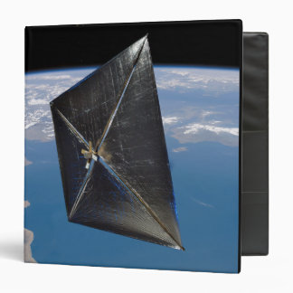 Artist concept of NanoSail-D in space Binder