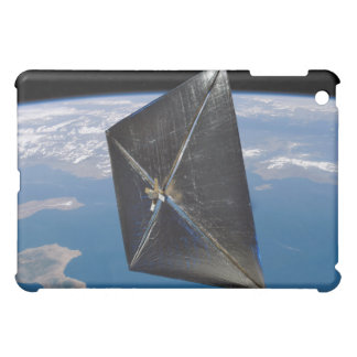 Artist concept of NanoSail-D in space Case For The iPad Mini