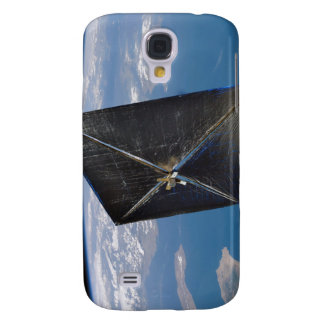 Artist concept of NanoSail-D in space Galaxy S4 Case