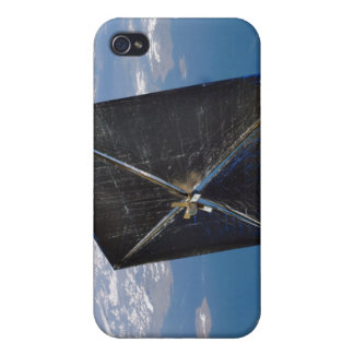 Artist concept of NanoSail-D in space iPhone 4 Cases