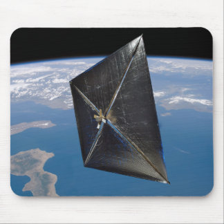 Artist concept of NanoSail-D in space Mouse Pad