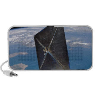Artist concept of NanoSail-D in space Speaker