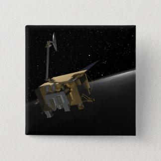 Artist Concept of the Lunar Reconnaissance Orbi 4 Pinback Button