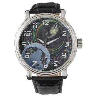 Artist concept Spacecraft Alcubierre Warp Drive Wrist Watch