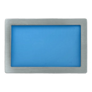 Artist Created Blue Color Shade :Add txt n image Belt Buckles