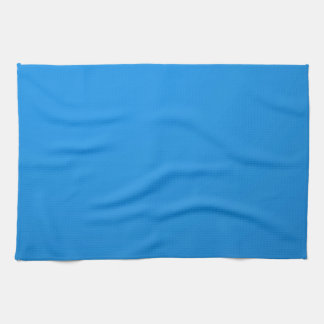Artist Created Blue Color Shade :Add txt n image Kitchen Towels
