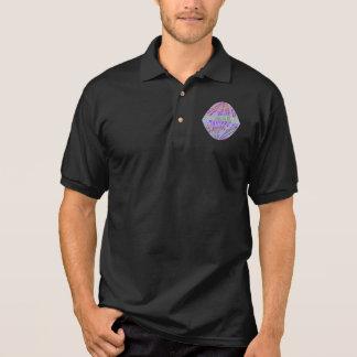 Artist Created GRAND Crystal Gem Polo T-shirt