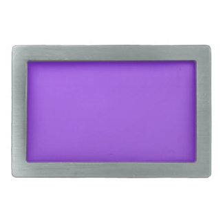 Artist created Purple Color Tone: Add txt n image Rectangular Belt Buckles