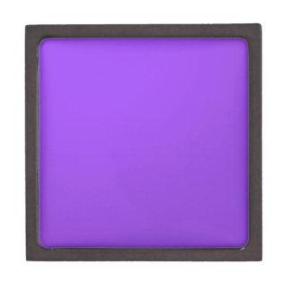 Artist created Purple Color Tone: Add txt n image Keepsake Box