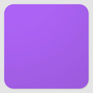 Artist created Purple Color Tone: Add txt n image Square Sticker