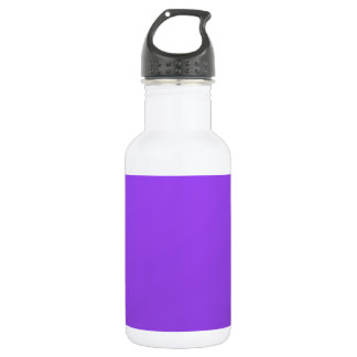 Artist created Purple Color Tone: Add txt n image Water Bottle
