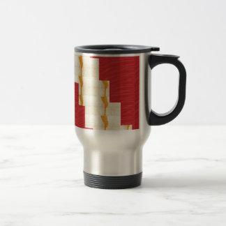 ARTIST created SILKY Color Pallet n Crystal Tiles Travel Mug