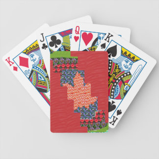 ARTIST created SILKY Color Pallet n FLOWER PATCH Bicycle Card Deck