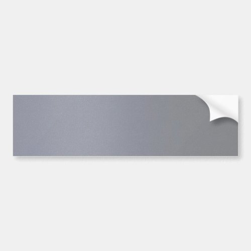 Artist created  Steel Grey Strip Acrylic Look Bumper Sticker