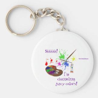 Artist Creating-Humor Keychain