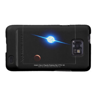 Artist Depiction of Fastest Rotating Star VFTS 102 Samsung Galaxy S2 Cases