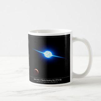 Artist Depiction of Fastest Rotating Star VFTS 102 Coffee Mug