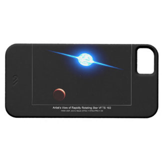 Artist Depiction of Fastest Rotating Star VFTS 102 iPhone SE/5/5s Case