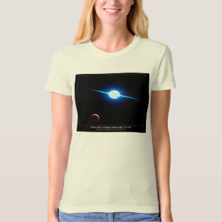 Artist Depiction of Fastest Rotating Star VFTS 102 T-Shirt