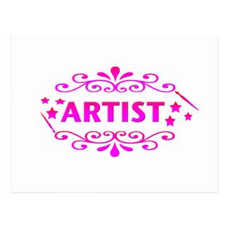 Artist Design Postcard
