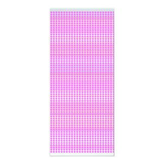 Artist Designed Special Purple Dot Stripes Card