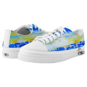 Beach Themed Artist Designed Unisex Summer Beach Sneakers