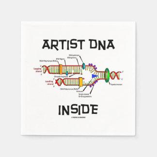 Artist DNA Inside Genes Genetics DNA Replication Paper Napkin