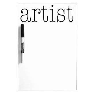 Artist Dry-Erase Board