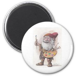 Artist Dwarf Magnet