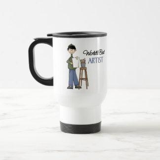 Artist Gift 15 Oz Stainless Steel Travel Mug