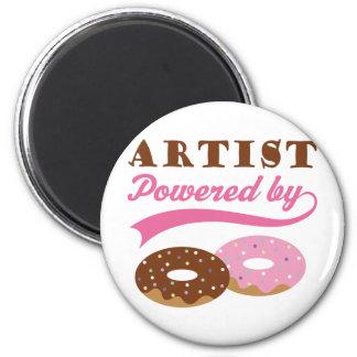 Artist Gift Donuts Magnet