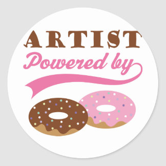 Artist Gift (Donuts) Stickers