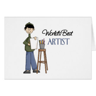 Artist Gift Greeting Card