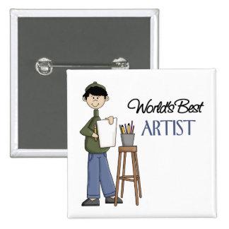Artist Gift Pinback Button
