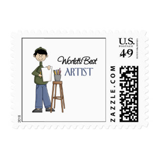 Artist Gift Postage Stamps